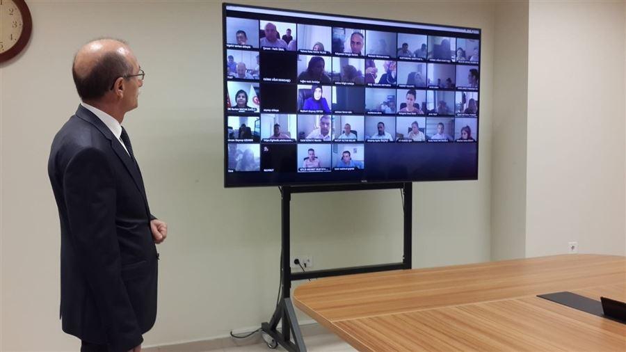 Hal Hakem Heyeti Raportörlerine Online Eğitim Verildi